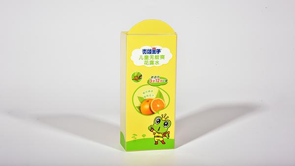 青蛙王子透明胶盒包装盒定制案例