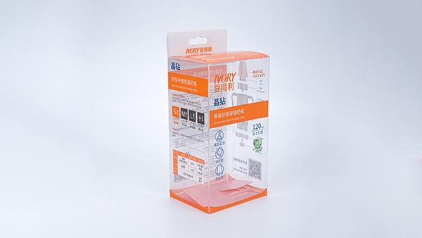 爱得利合作万利婴童透明包装胶盒案例