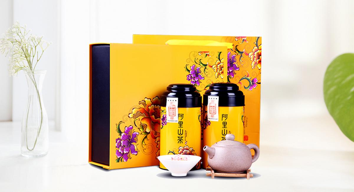 茶类包装礼品盒详情图