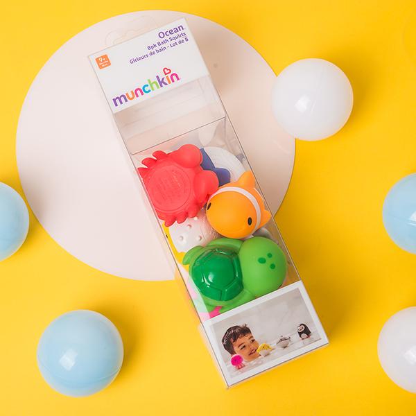 婴童玩具产品包装胶盒