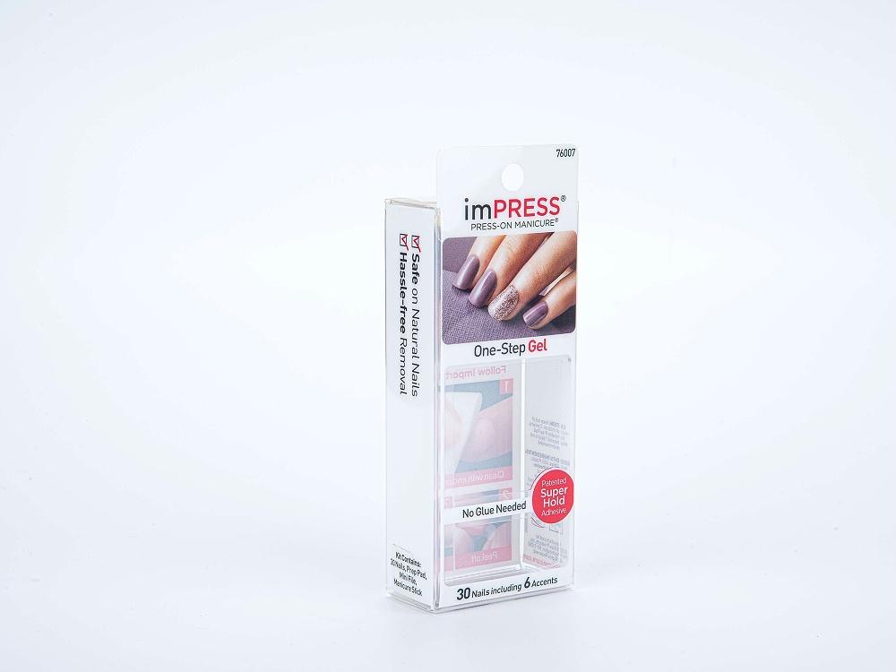美甲透明包装胶盒定制